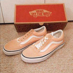 Vans Classic Peach Shoes NEW